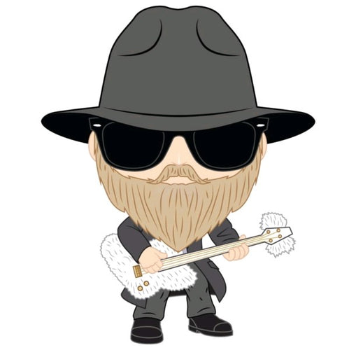 ZZ Top - Dusty Hill Pop! Vinyl