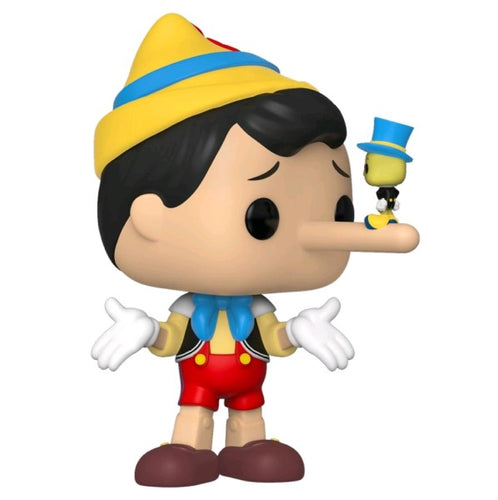 Pinocchio - Pinocchio with Jiminy Cricket Pop! Vinyl
