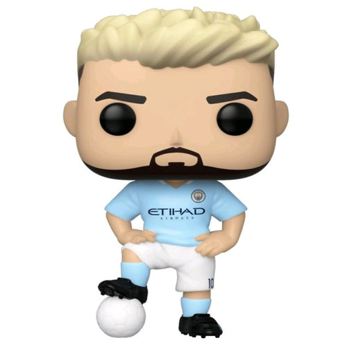 Football: Manchester City - Sergio Aguero Pop! Vinyl