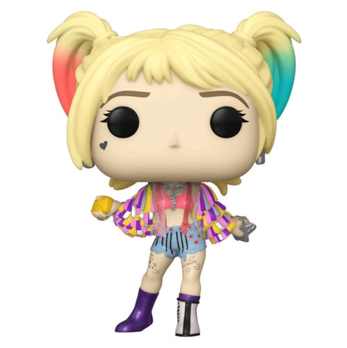 Birds of Prey - Harley Quinn Caution Tape Jacket Pop! Vinyl