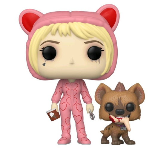 Birds of Prey - Harley Quinn Onesie with Bruce US Exclusive Pop! Vinyl
