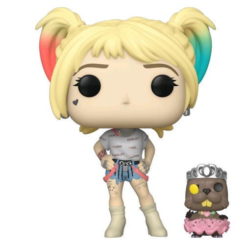Birds of Prey - Harley Quinn with Beaver Pop! Vinyl