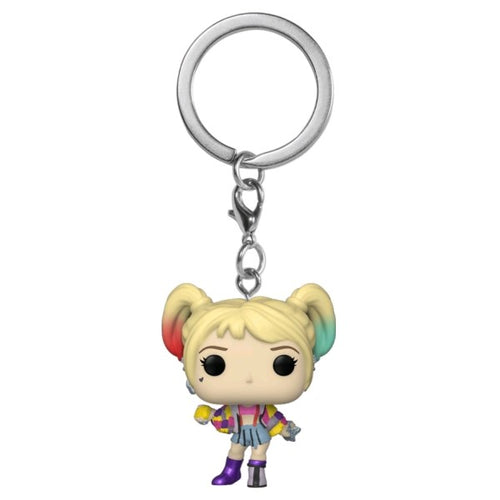 Birds of Prey - Harley Caution Tape Pocket Pop! Keychain