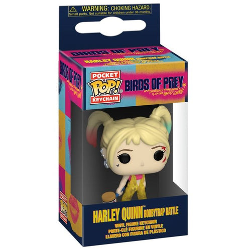 Birds of Prey - Harley Boobytrap Pocket Pop! Keychain