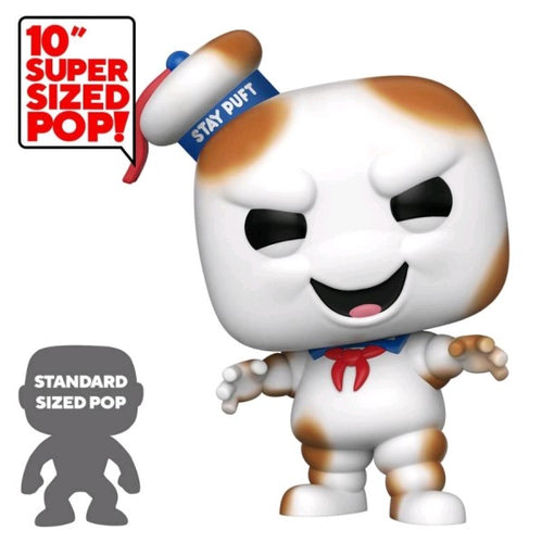 "Ghostbusters - Stay Puft Burnt US Exclusive 10"" Pop! Vinyl"
