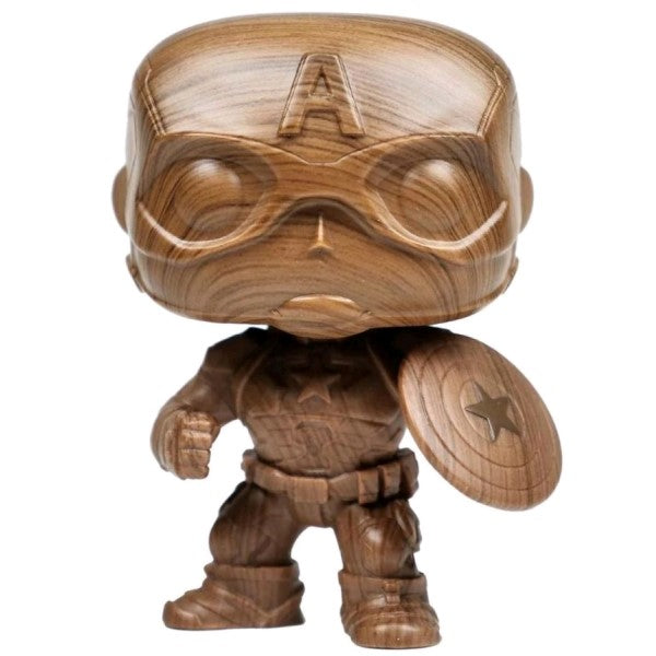 Captain America - Captain America Wood Deco Pop! Vinyl