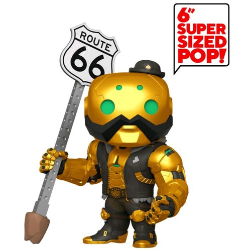 "Overwatch - B.O.B. Metallic US Exclusive 6"" Pop! Vinyl"