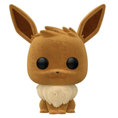Pokemon - Eevee Flocked US Exclusive Pop! Vinyl