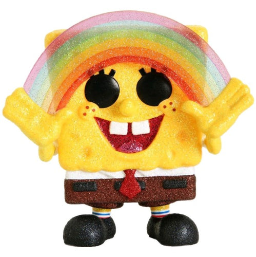 SpongeBob SquarePants - SpongeBob with Rainbow Diamond Glitter US Exclusive Pop! Vinyl