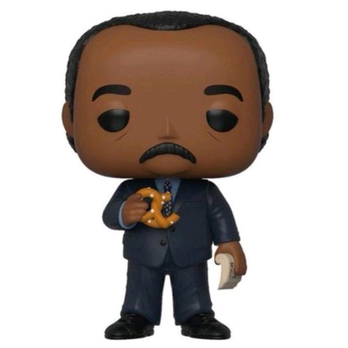The Office - Stanley Hudson with Pretzel US Exclusive Pop! Vinyl