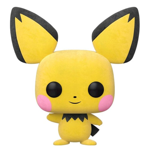 Pokemon - Pichu Flocked US Exclusive Pop! Vinyl