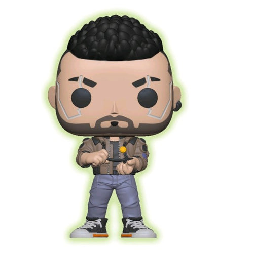 Cyberpunk 2077 - V-Male Glow US Exclusive Pop! Vinyl