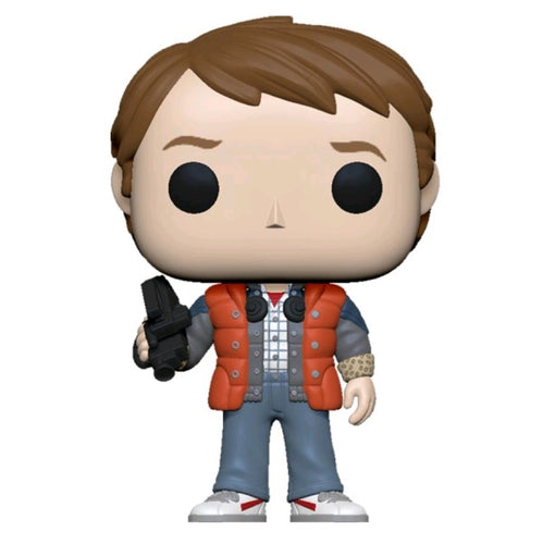 Back to the Future - Marty in Puffy Vest Pop! Vinyl