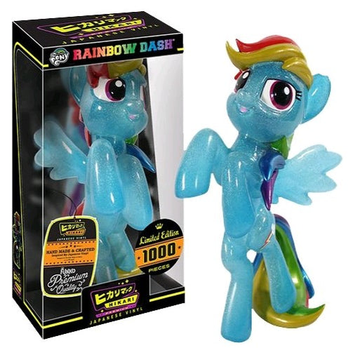 My Little Pony - Glitter Rainbow Dash Hikari
