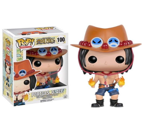 One Piece - Portgas D Ace Pop! Vinyl