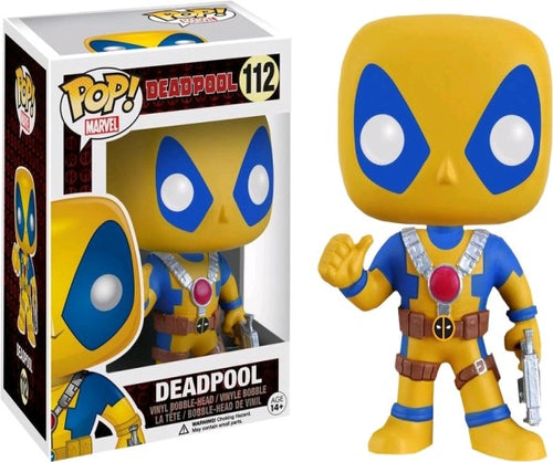 Deadpool - Slapstick (Yellow) Pop! Vinyl