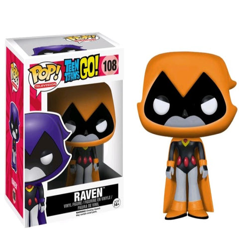 Teen Titans Go! - Raven (Orange) US Exclusive Pop! Vinyl