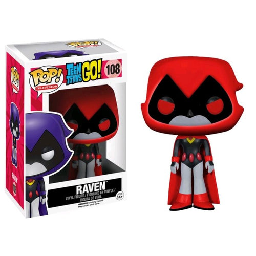 Teen Titans Go! - Raven (Red) US Exclusive Pop! Vinyl
