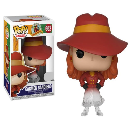Where in the World is Carmen Sandiego - Carmen Sandiego Fade US Exclusive Pop! Vinyl