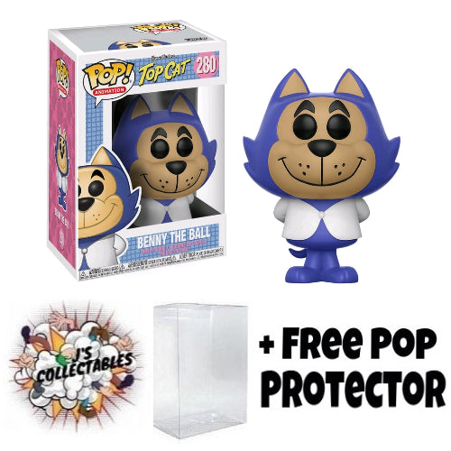 Hanna Barbera - Benny the Ball Pop! Vinyl