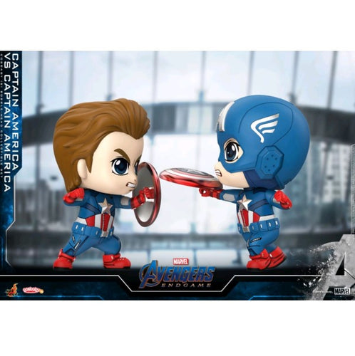 Avengers 4: Endgame - Captain America vs Captain America Cosbaby Set