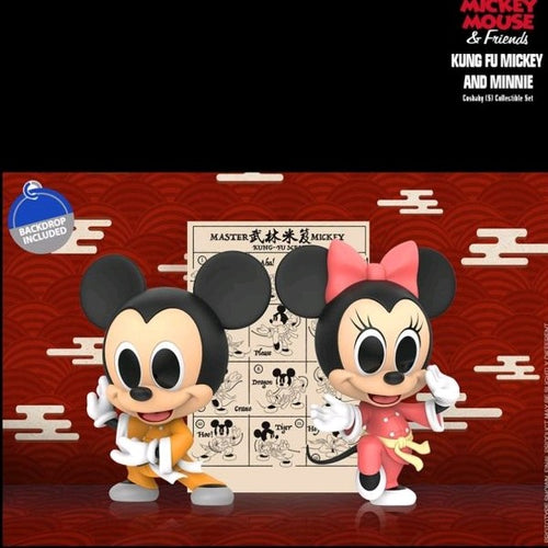 Mickey Mouse - Kung Fu Mickey & Minnie Cosbaby Set