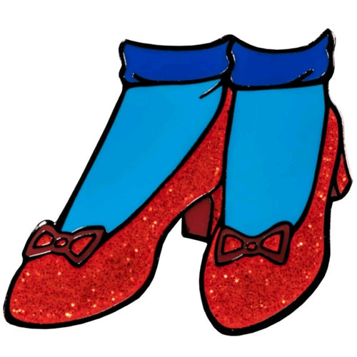 Wizard of Oz - Ruby Slippers Enamel Pin