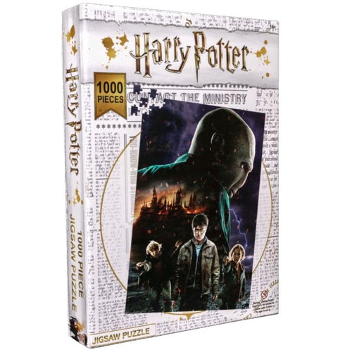 Harry Potter - Burning Hogwarts Jigsaw Puzzle