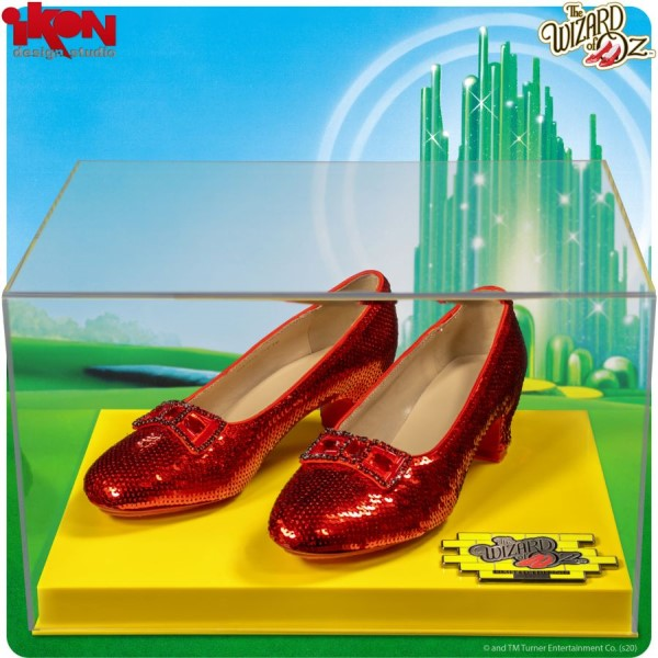 Wizard of Oz - Dorothy's Ruby Slippers Replica