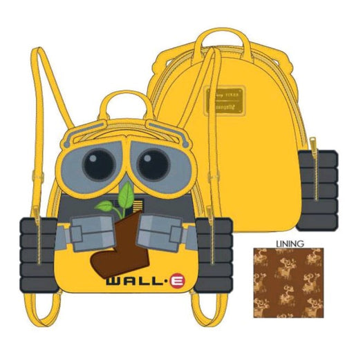 Wall-E - Plant Boot Mini Backpack