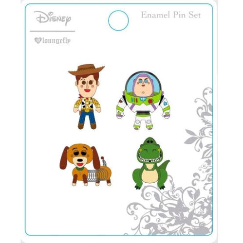 Toy Story - Enamel Pin 4-pack