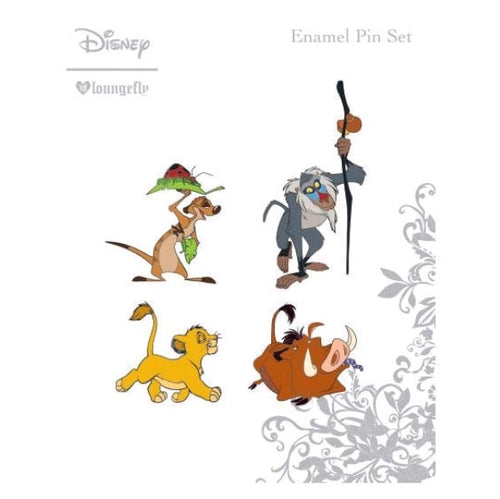 Lion King - Enamel Pin 4pk