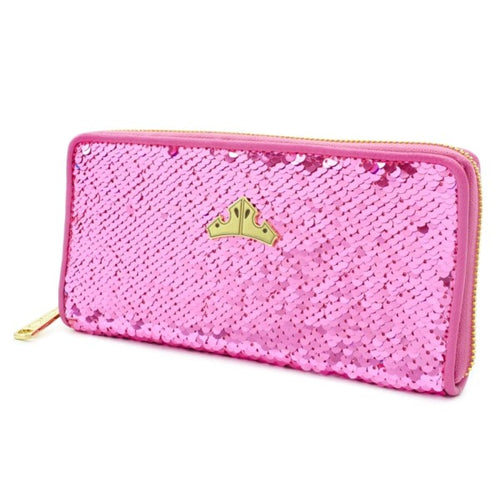 Sleeping Beauty - Reversible Sequin Purse