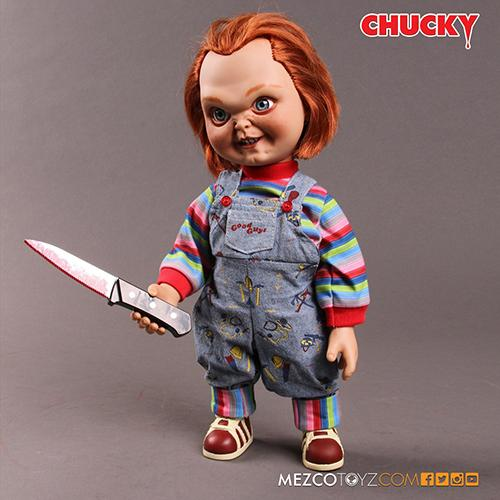 "Child's Play - Chucky 15"" Good Guy Action Figure with Sound"