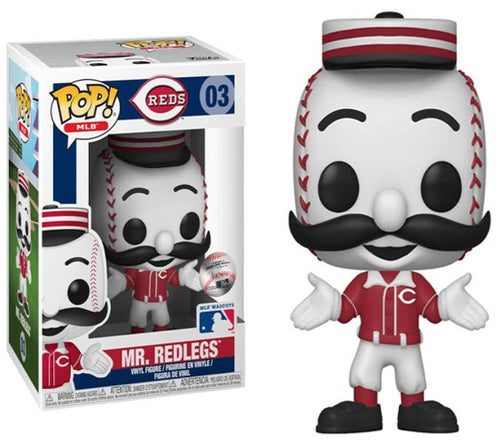 MLB - Mr Redlegs Pop! Vinyl