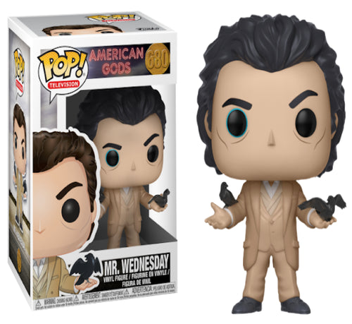 American Gods - Mr. Wednesday Pop! Vinyl