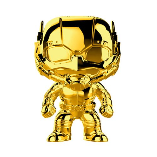 Marvel Studio's 10th Anniversary Chrome Ant-Man Pop! Vinyl Figure