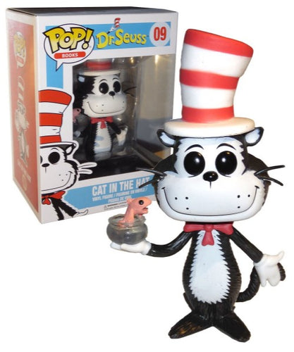 Dr Seuss - Cat in the Hat with Fish Bowl US Exclusive Pop! Vinyl