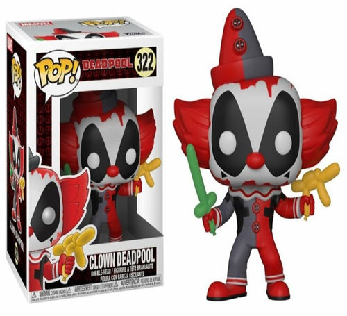Deadpool - Playtime Clown Pop! Vinyl