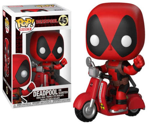 Deadpool - Deadpool with Scooter Pop! Ride