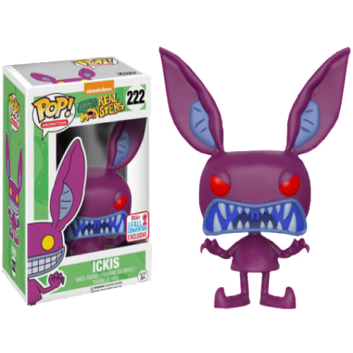 Aaahh!!! Real Monsters - Ickis Scare NYCC 2017 US Exclusive Pop! Vinyl