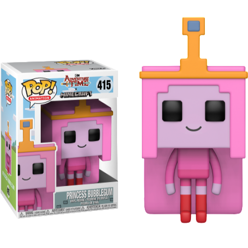Adventure Time x Minecraft - Princess Bubblegum Pop! Vinyl
