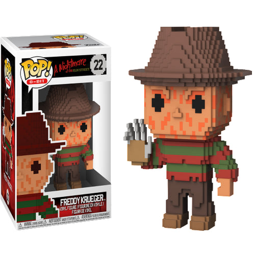 A Nightmare on Elm St - Freddy Krueger 8-Bit Pop! Vinyl