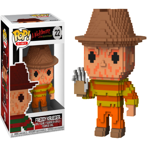 A Nightmare on Elm St - Freddy Krueger NES 8-Bit US Exclusive Pop! Vinyl