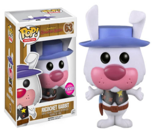 Hanna Barbera - Ricochet Rabbit Flocked US Exclusive Pop! Vinyl