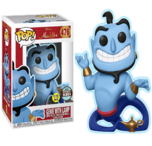 Aladdin - Genie with Lamp Glow Specialty Series Exclusive Pop! Vinyl