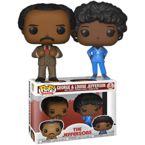 The Jeffersons - George & Louise Pop! Vinyl Figure 2-Pack