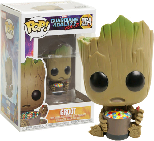 Guardians of the Galaxy: Vol. 2 - Groot with Candy Bowl US Exclusive Pop! Vinyl