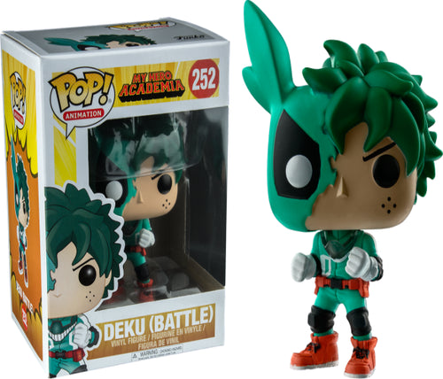 My Hero Academia - Deku (Battle) US Exclusive Pop! Vinyl