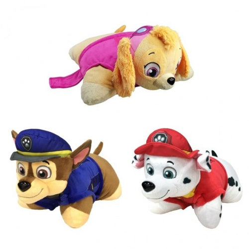 "Paw Patrol Pillow Pets Travel Buddies 11"" Plush"